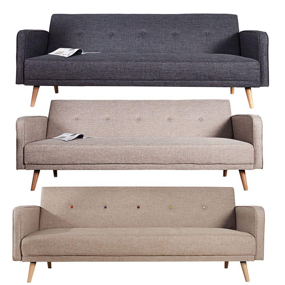 Design Schlafsofa Scandinavia Couch Sofa Schlafcouch Farbwahl