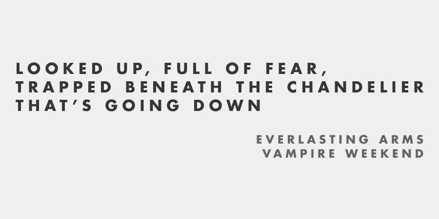 everlasting arms - Vampire Weekend