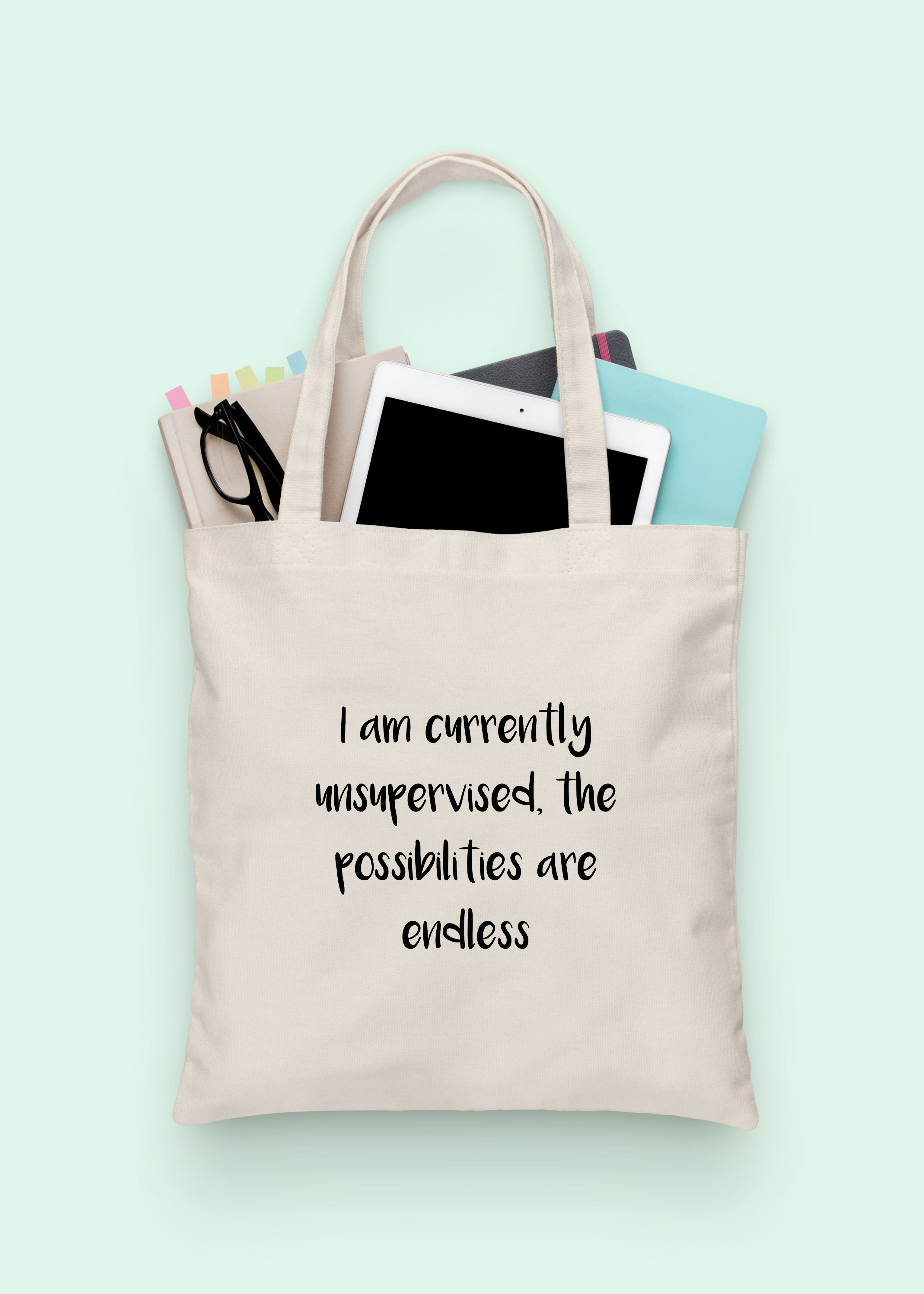 Trust Me I/'m The Boss Large Beach Tote Bag Funny Best Favourite Shoulder