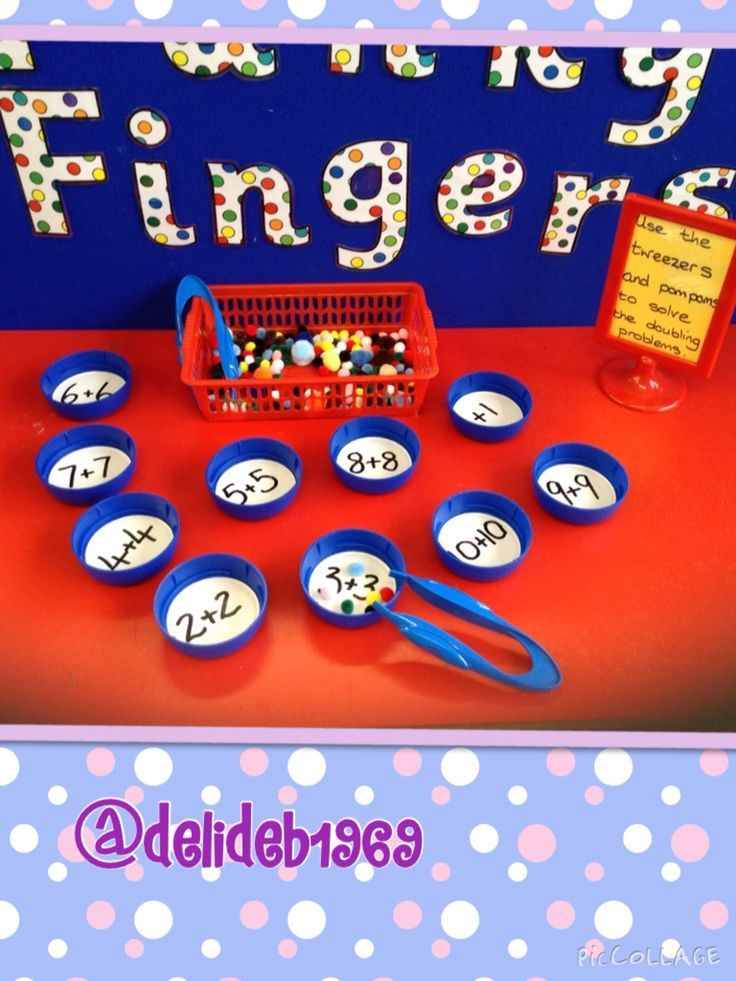 Doubling activity for Funky Fingers table | Math + Activities ...