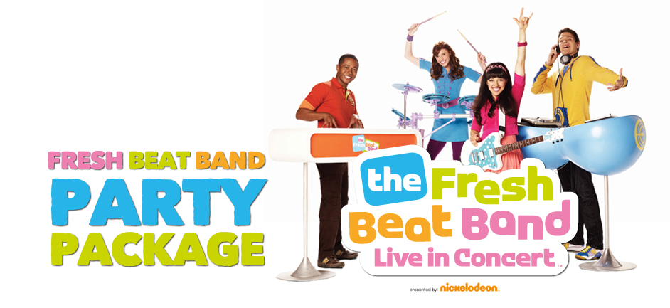 The Fresh Beat Band Party Package