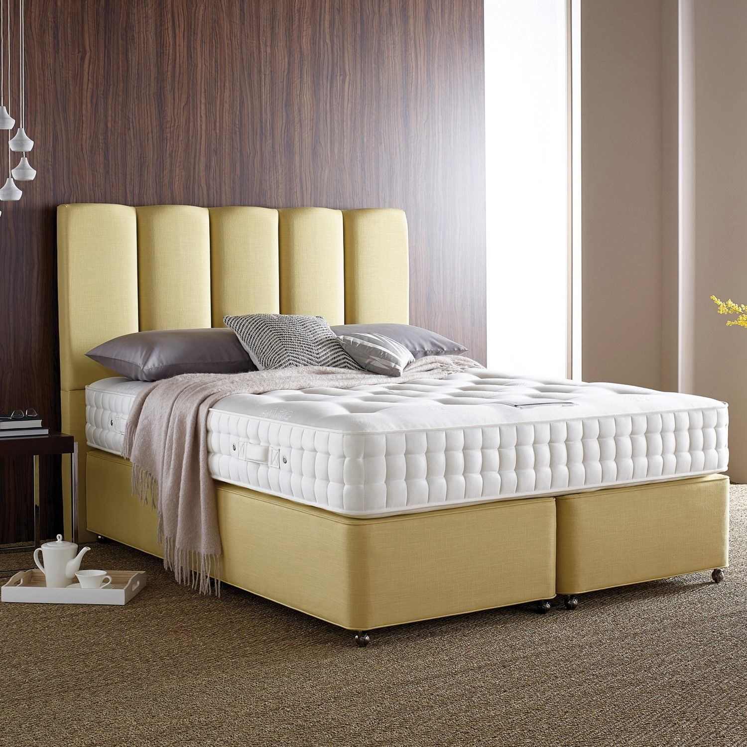 Somnus Nidderdale Bedframe And Mattress Luxury Natural And