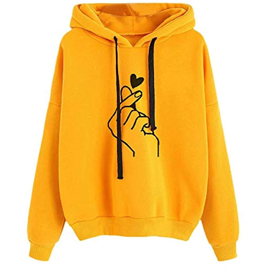 online retailer 9d74d ec1c8 Jaminy Damen Pulli Pullover Sweatshirt Kapuzenpulli Top ...