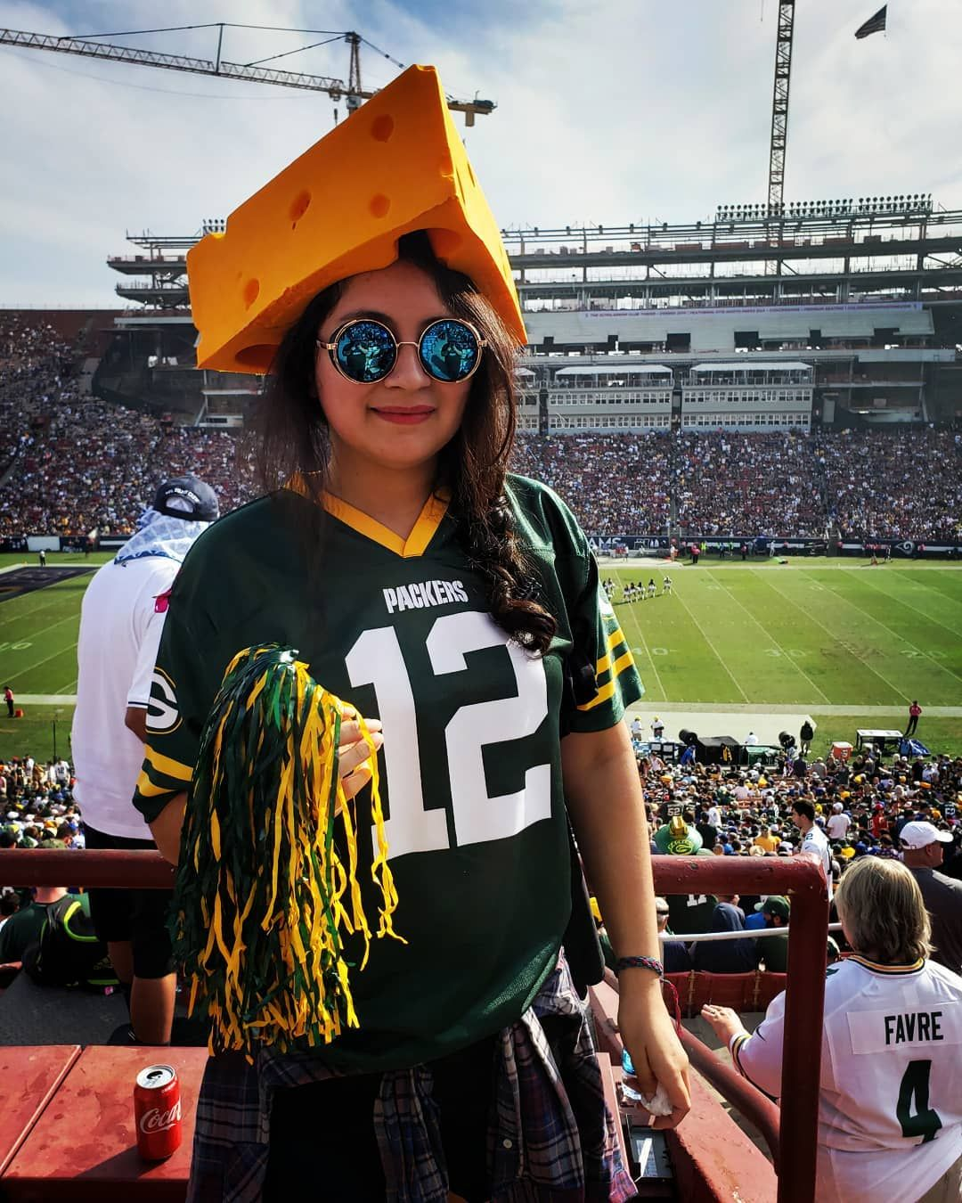 "look at that cute cheesehead!""-a packers fan #greenBAE #greenbay ..."