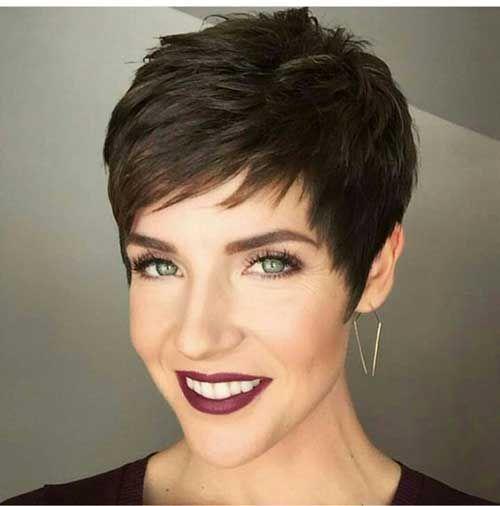 Son Zamanların Trendi Kısa Saç Modelleri - Kadın ve Moda