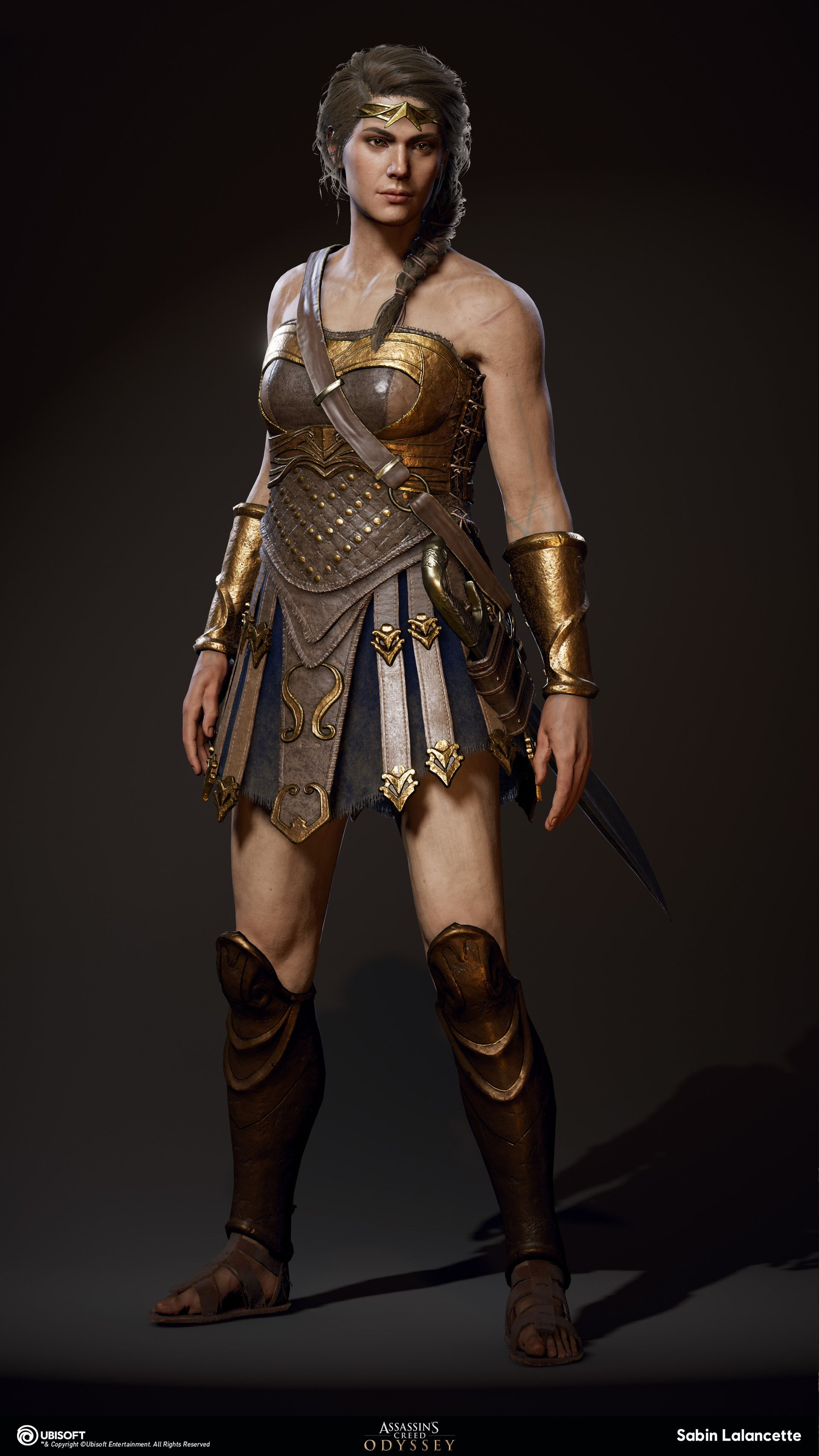 Https Www Artstation Com Artwork 8lw2ke Assassins Creed Art Assassins Creed Odyssey Warrior Outfit