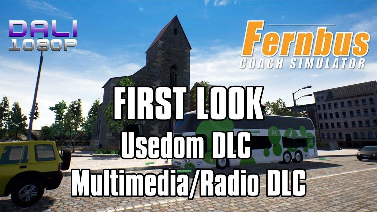 6f27d59ac16 Fernbus Simulator - FIRST LOOK Usedom DLC + Multimedia/Radio DLC Usedom and  Ahlbeck are