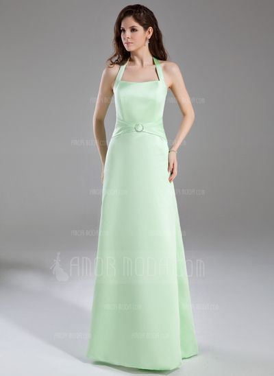 Vestidos de boda - $103.99 - Corte A/Princesa Cabestro Vestido Satén ...