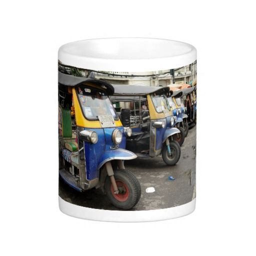 Tuk Tuk Taxi Bangkok Thailand Coffee Mug Mugs Bangkok Thailand Coffee Travel