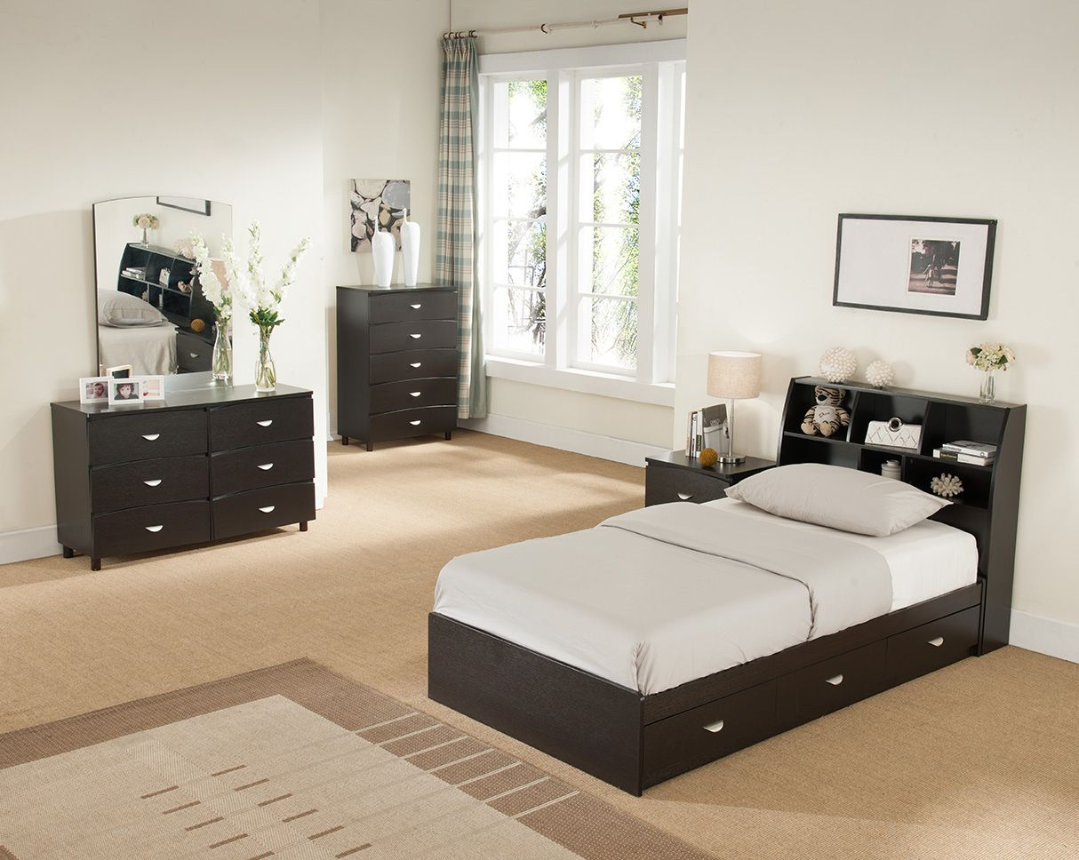 ID USA Furniture Distributor Y1002T Twin Size Chest Bed