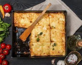 Koolhydraatarme ovenschotel met kip, spinazie en champignons | Atkins Low Carb Expert