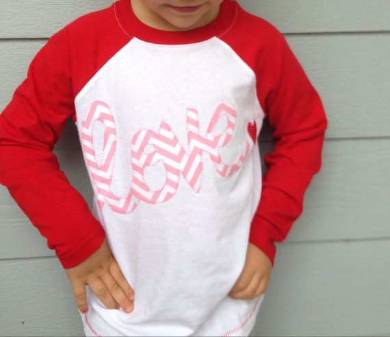 girls sweet love valentine raglan sleeve shirt by ohsweetsprouts