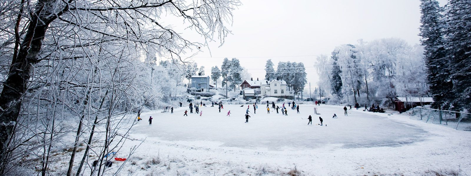 old fashioned outdoor ice skating rink google search