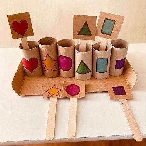 Kleinkinder Spiele für Drinnen - tolle Ideen für Dich