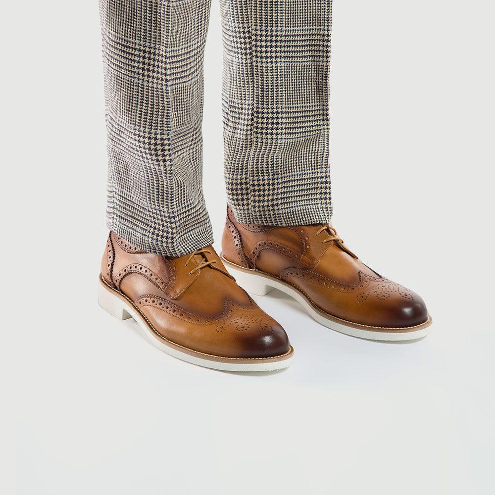 Buty Meskie Polbuty Wittchen 86 M 057 Dress Shoes Men Summer Shoes Oxford Shoes