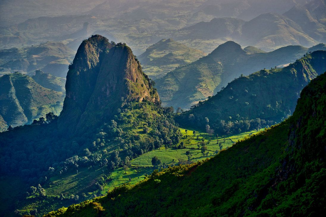 Semien Mountains by CitizenFresh on deviantART