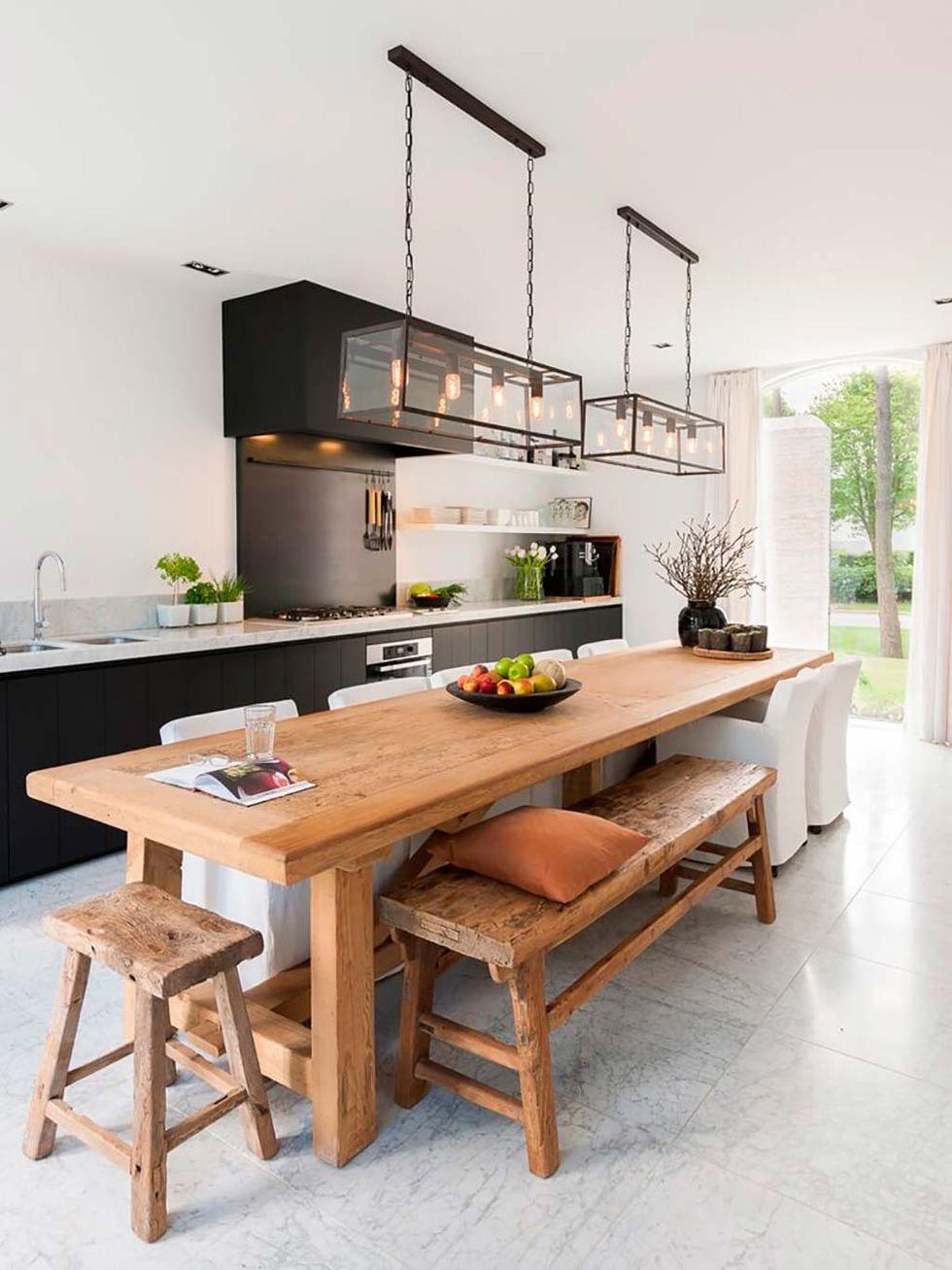 Pon una cocina abierta en tu vida... ¡Y que viva el espacio!
