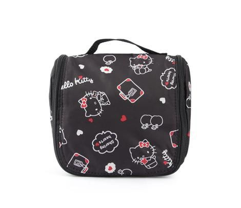 c68d4ac862 Hello Kitty Hanging Travel Pouch  Apple Collection