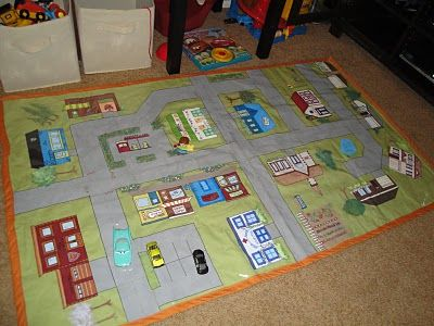 awesome car playmat