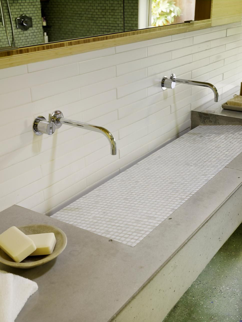 Concrete Stain Colors For Every Room Hgtv Concrete Bathroom Concrete Countertops Bathroom Bathroom Countertops