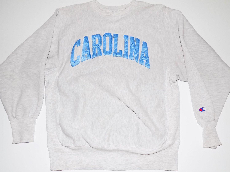 c45a294b1a6 Vintage North Carolina Champion Sweatshirt   UNC Tarheels   VERY ...