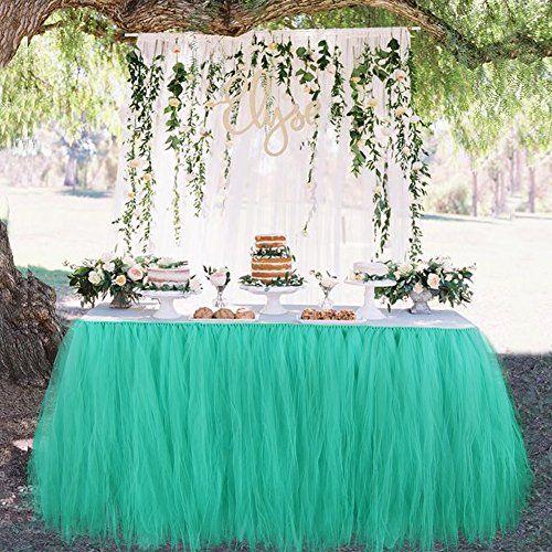 Aytai TUTU Table Skirt Tulle Tableware Handmade Table Cloth