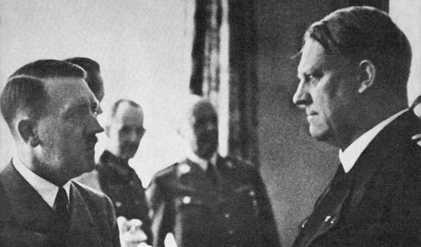Image result for quisling with hitler