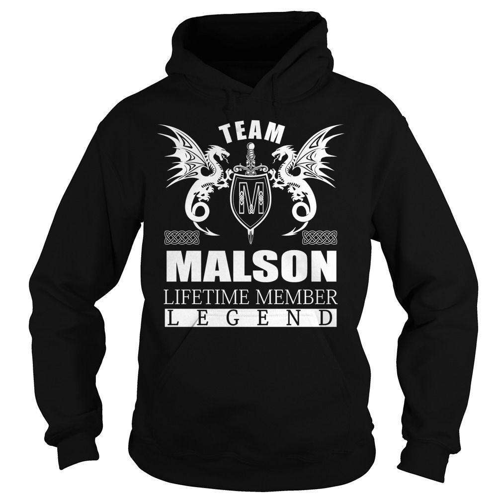 Team MALSON Lifetime Member - Last Name, Surname TShirts