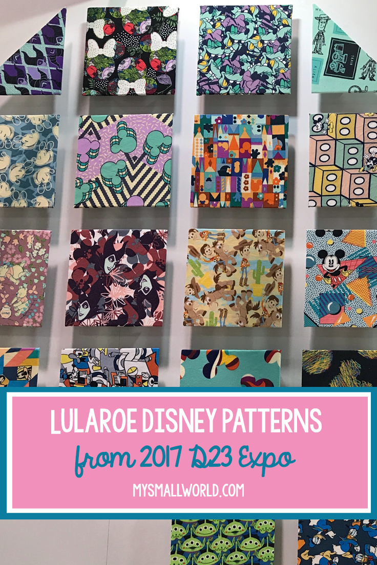 dae71cc2195427 New LuLaRoe Disney prints were revealed at the 2017 D23 Expo - Toy Story,  Nightmare Before Christmas, Little Mermaid, Villians and more.