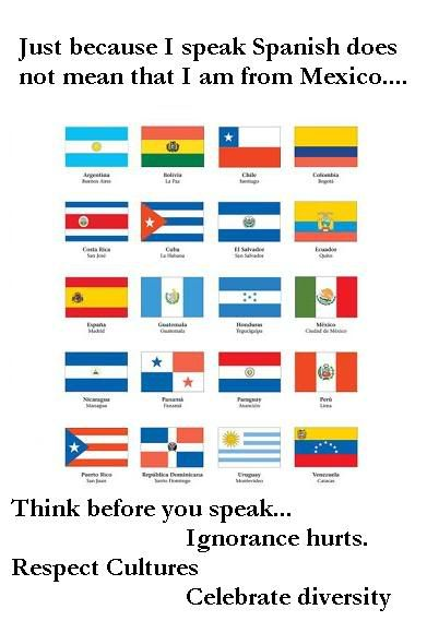 More Than One Country Speaks Spanish People How To Speak Spanish Spanish Speaking Countries Spanish