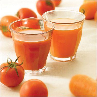 Коктейл от портокали и домати - Доматите и портокалите са богати на витамин С който е полезен