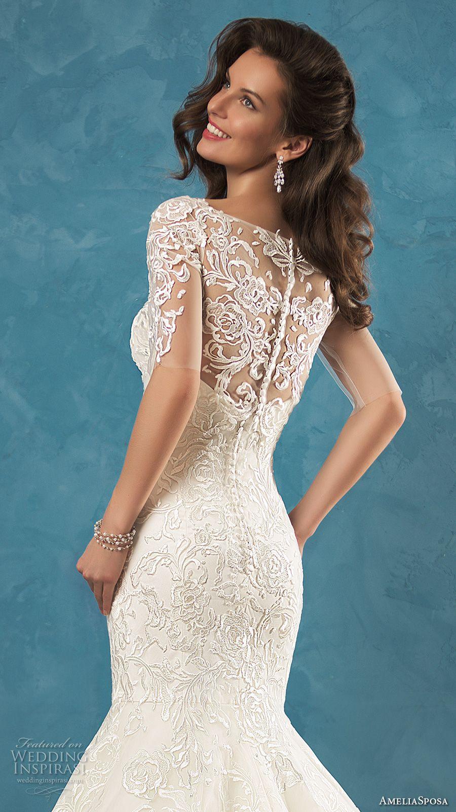 Amelia Sposa 2017 Wedding Dresses | Wedding dress, Amelia sposa and ...