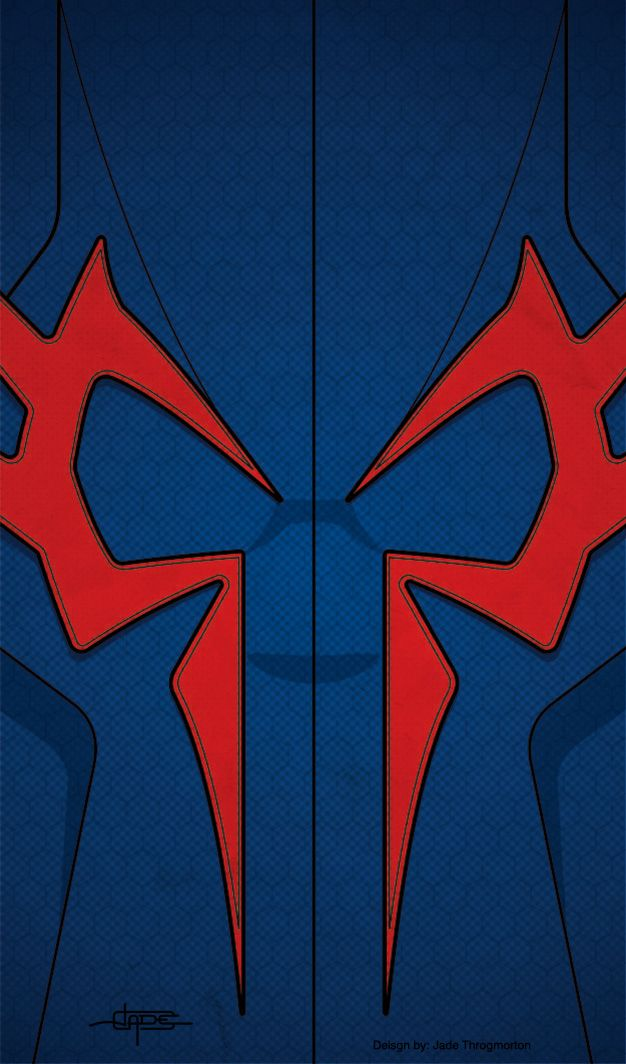 Spider Man 2099 FREE IPhone Super Hero Wallpaper Download And Use Have To Disable Parallax In IOS7 Scale It Fit