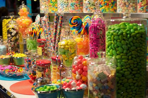 I'd like to visit this candy shop. :)