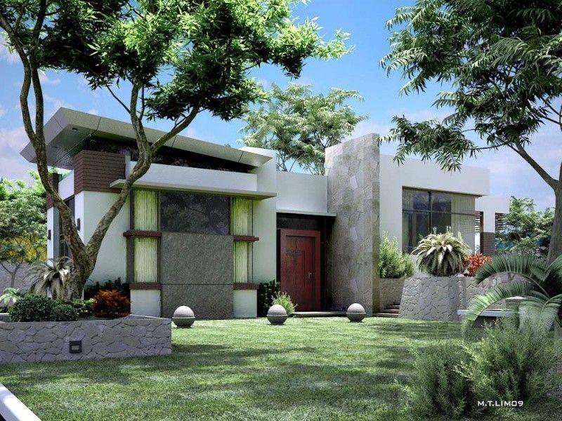 bungalow-home-design | Architecture | Pinterest | Modern bungalow ...