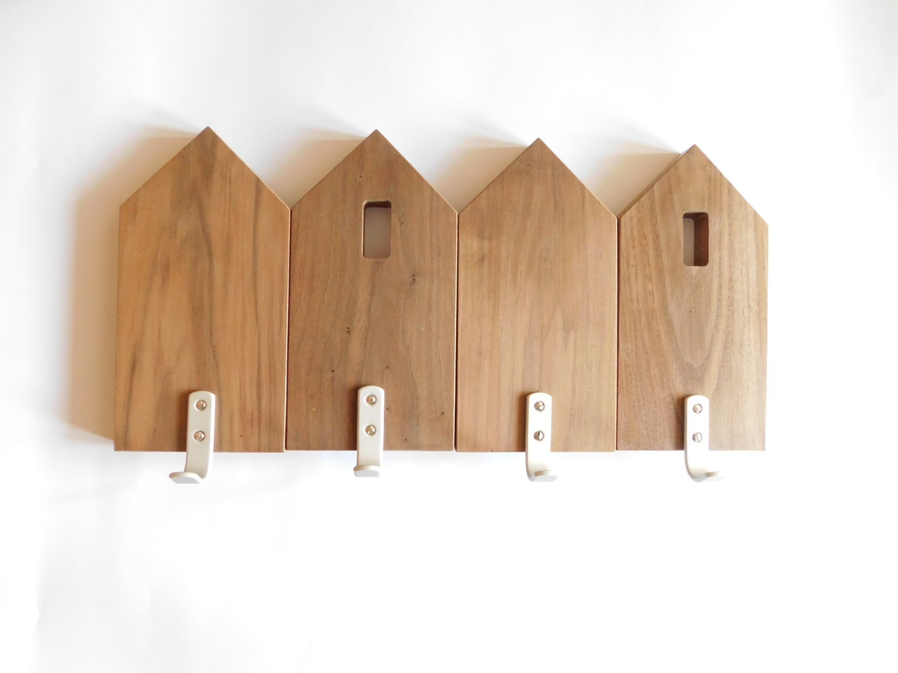 Modern Wooden Coat Rack Wall Scandinavian Design Kids Clothing 69