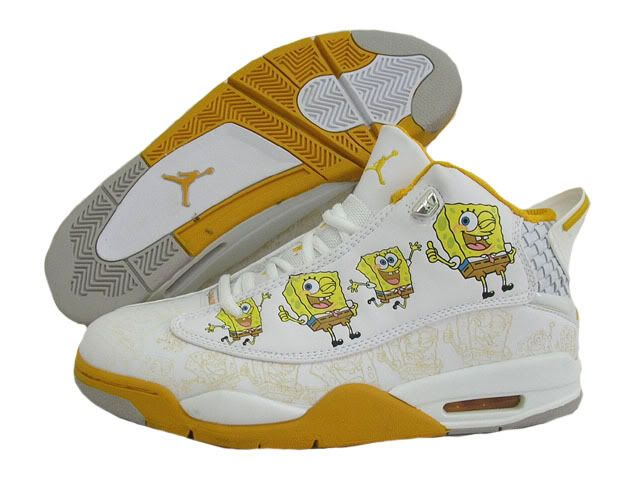 old jordan spongebob sneakers