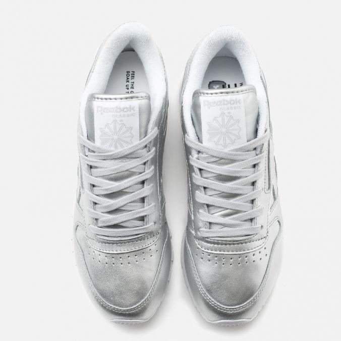 fee70e3df196b Кроссовки женские Reebok x Face Stockholm Classic Leather Spirit Presence White  фото-4