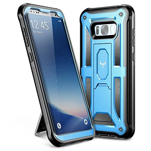 meet aed3d f3c03 Galaxy S8 Plus Case YOUMAKER Heavy Duty Protection Kickstand Clip ...