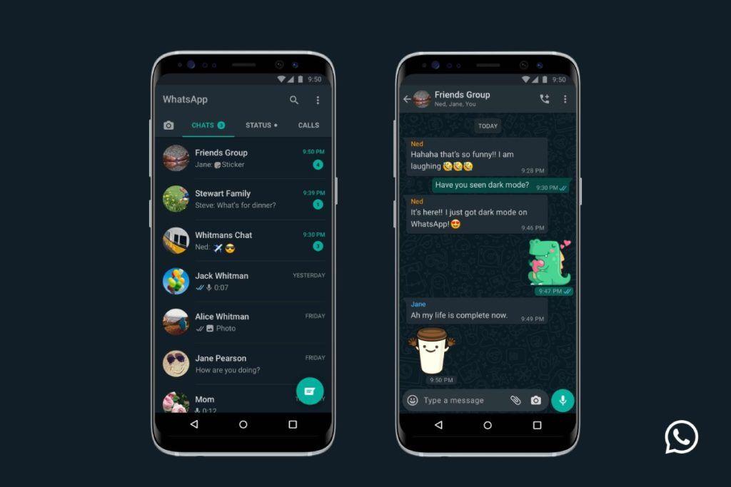 واتساب باللون الأسود متوفر الآن لأندرويد وآيفون صدى التقنية In 2020 Android Iphone Dark