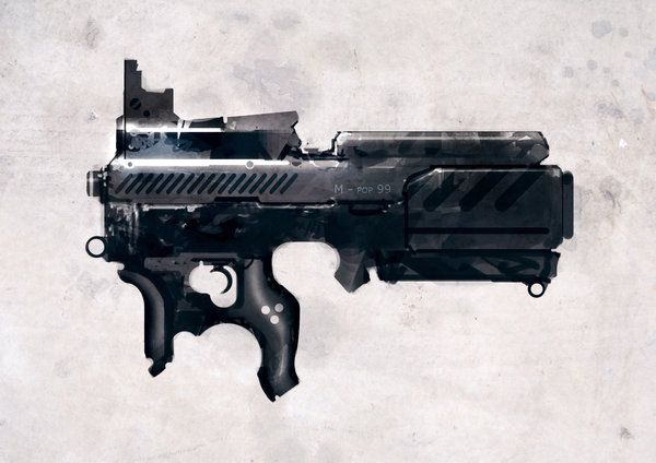 speed painted bullpup POP by torvenius on DeviantArt