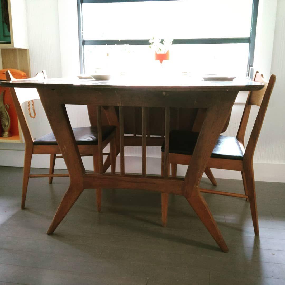 Versatile Vintage Garrison Furniture Co Danish Modern Expanding