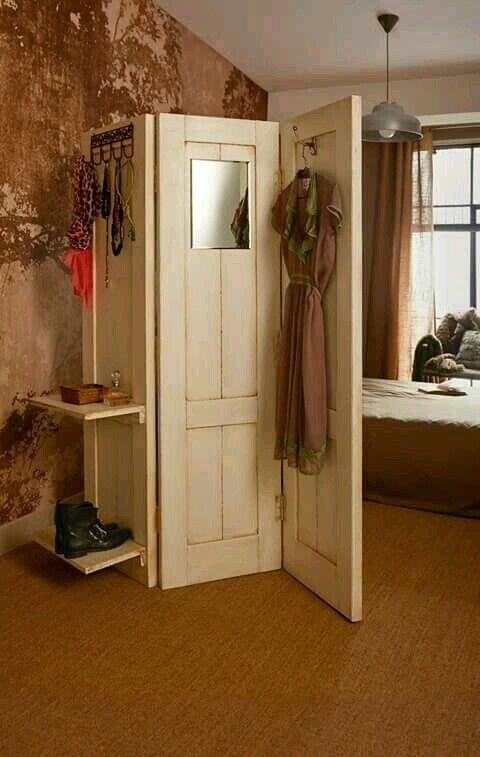 Excelente idea reciclando puertas guarayo pinterest - Puertas de biombo ...