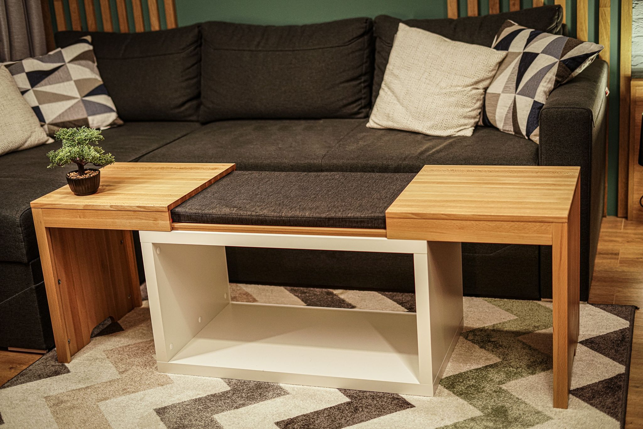 Ottoman or Coffee table? How about both? in 2020   Coffee ...