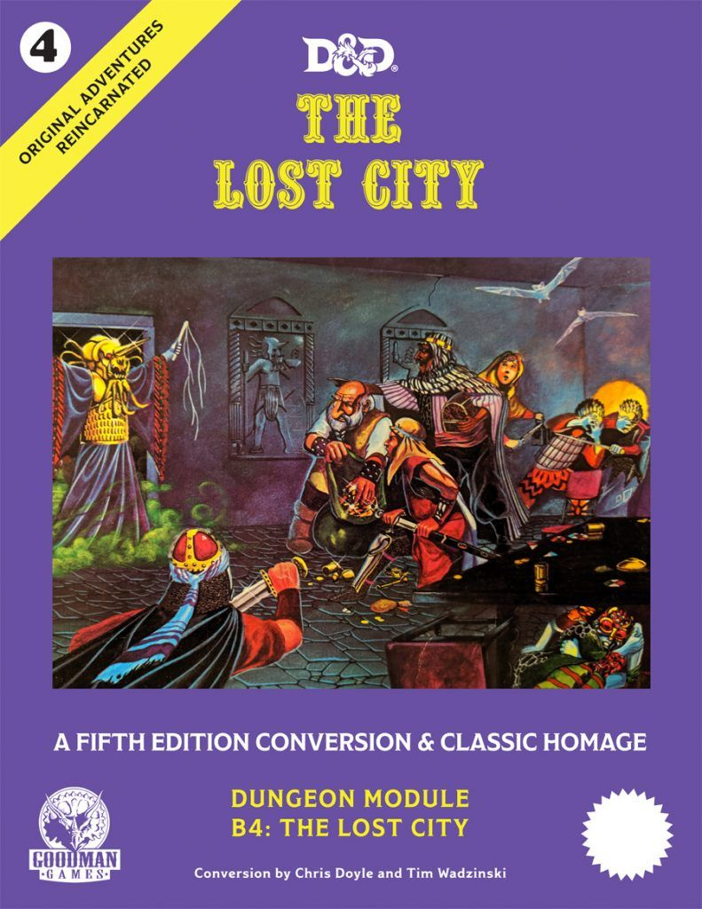 Announcing Oar 4 The Lost City Goodman Games Lost City