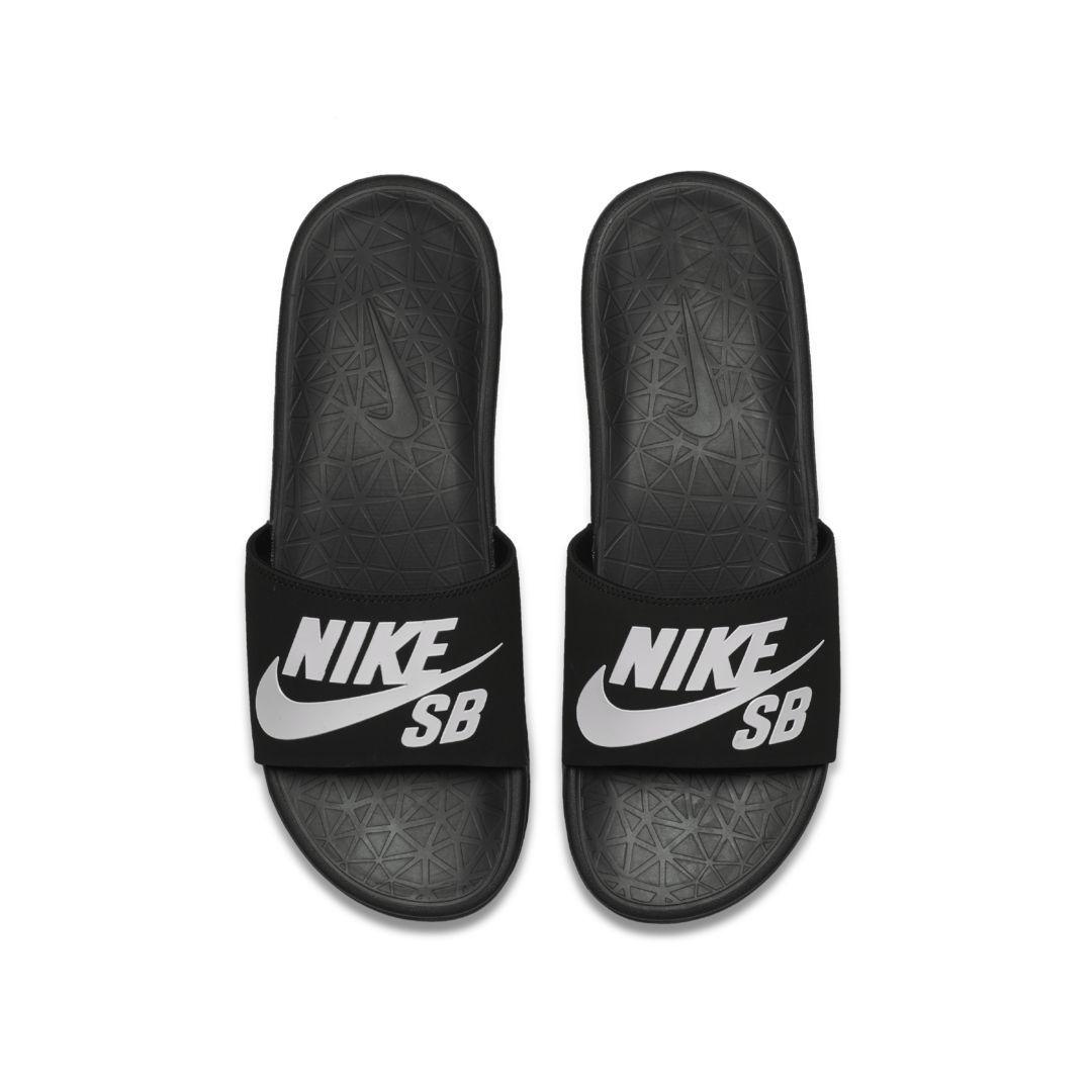 657422c8ef11 Nike SB Benassi Solarsoft Men s Slide Size 14 (Black) in 2019 ...