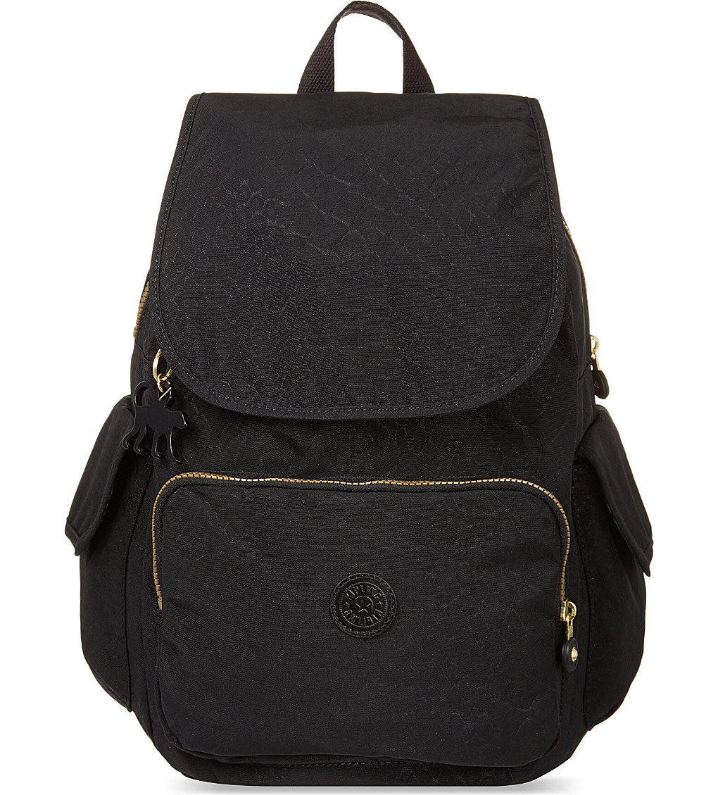 KIPLING City Pack B backpack (Black animal  0ab25616b4
