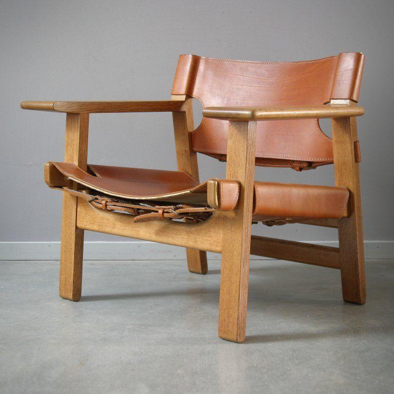 pair of spanish chairs by børge mogensen ed rols pinterest