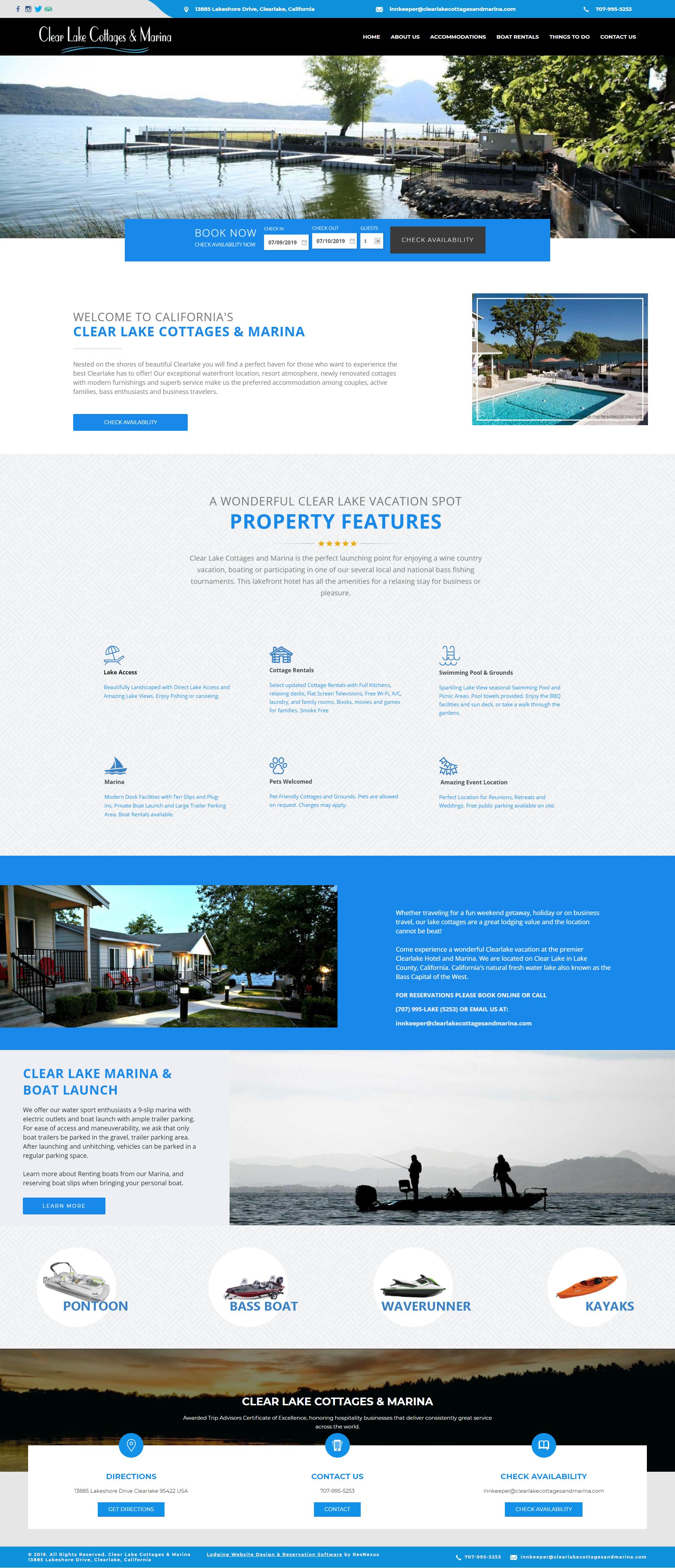 Marina Blue Website Design Yacht Charter Portfolio Website Design Website Design