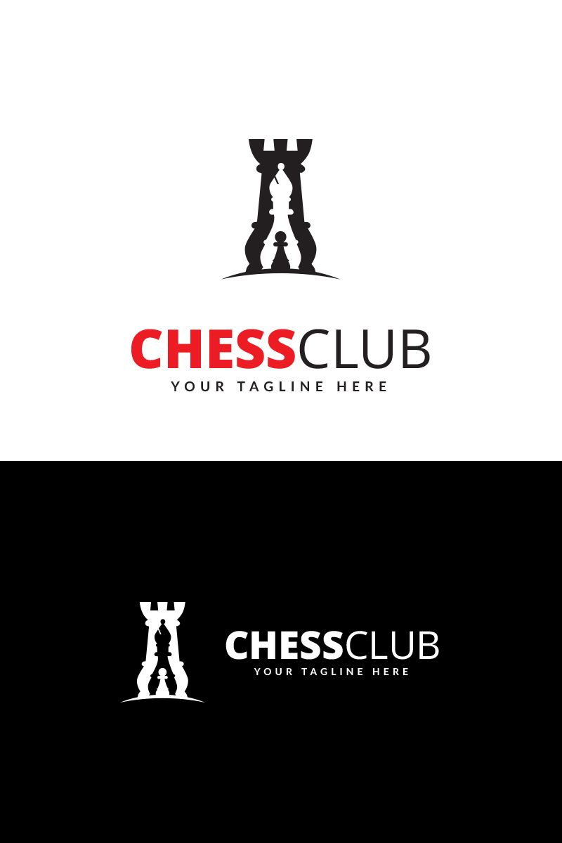a0ffcde5 Chess Club Logo Template #68995 | Wordpress Theme Design | Chess ...